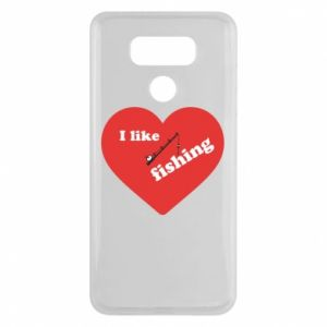 LG G6 Case I like fishing
