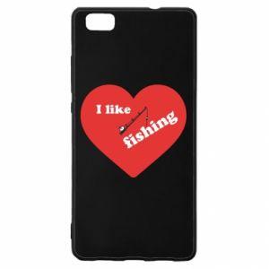 Huawei P8 Lite Case I like fishing