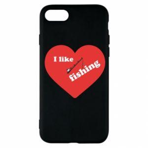 iPhone SE 2020 Case I like fishing