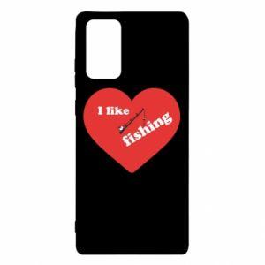 Samsung Note 20 Case I like fishing