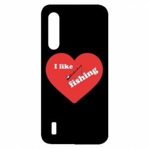 Xiaomi Mi9 Lite Case I like fishing