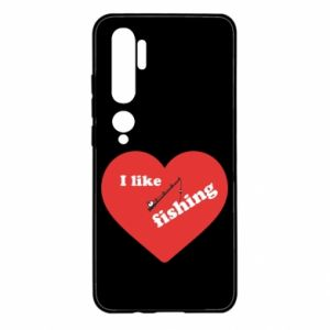 Xiaomi Mi Note 10 Case I like fishing