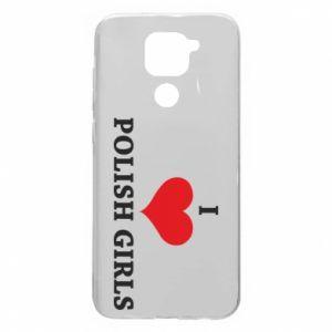 Etui na Xiaomi Redmi Note 9/Redmi 10X I like polish girls