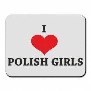 Podkładka pod mysz I like polish girls