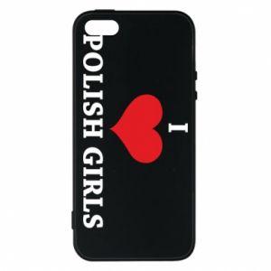 Etui na iPhone 5/5S/SE I like polish girls