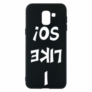 Etui na Samsung J6 I like so!
