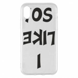 Etui na iPhone X/Xs I like so!