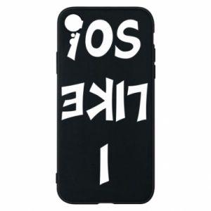 Etui na iPhone XR I like so!
