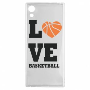 Sony Xperia XA1 Case I love basketball