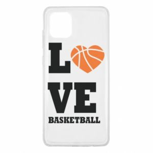 Samsung Note 10 Lite Case I love basketball