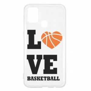 Samsung M31 Case I love basketball