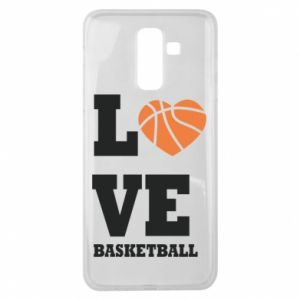 Samsung J8 2018 Case I love basketball