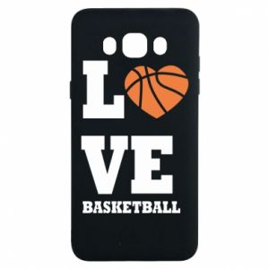 Samsung J7 2016 Case I love basketball