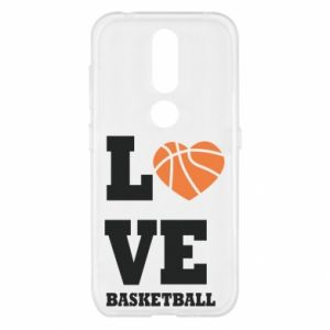 Nokia 4.2 Case I love basketball