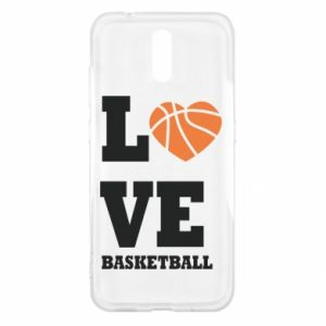 Nokia 2.3 Case I love basketball