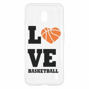 Nokia 2.2 Case I love basketball