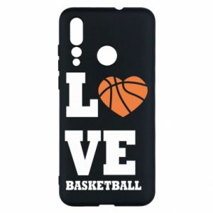 Huawei Nova 4 Case I love basketball