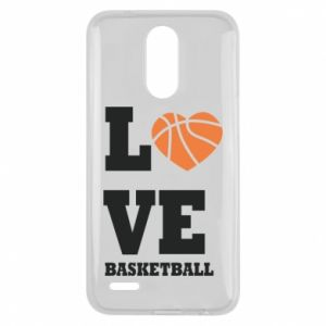 Lg K10 2017 Case I love basketball