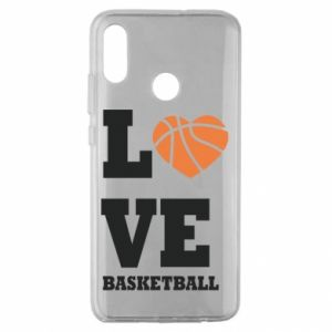 Huawei Honor 10 Lite Case I love basketball