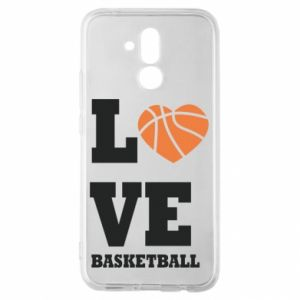 Huawei Mate 20Lite Case I love basketball