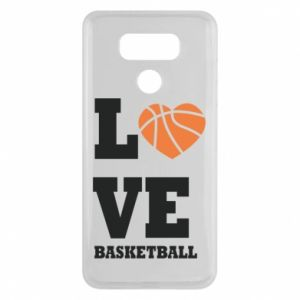 LG G6 Case I love basketball