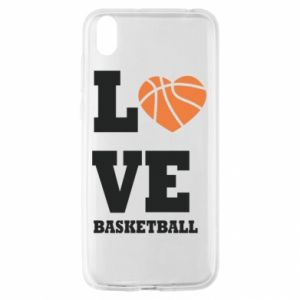Huawei Y5 2019 Case I love basketball