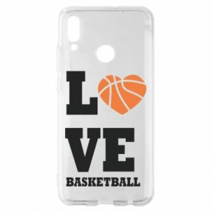 Huawei P Smart 2019 Case I love basketball