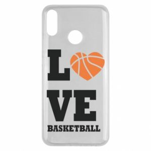 Huawei Y9 2019 Case I love basketball