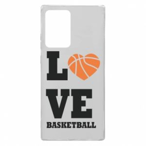 Samsung Note 20 Ultra Case I love basketball