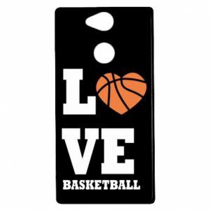 Etui na Sony Xperia XA2 I love basketball