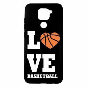 Etui na Xiaomi Redmi Note 9/Redmi 10X I love basketball
