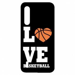Etui na Xiaomi Mi9 Lite I love basketball