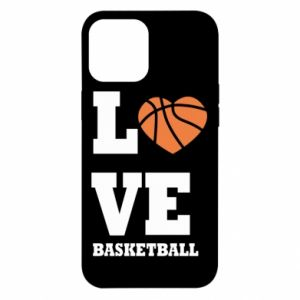 iPhone 12 Pro Max Case I love basketball