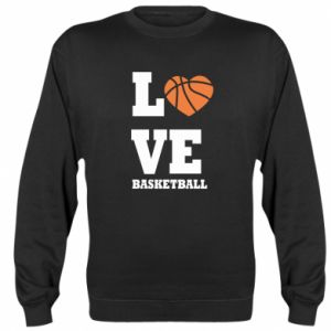 Sweatshirt I love basketball