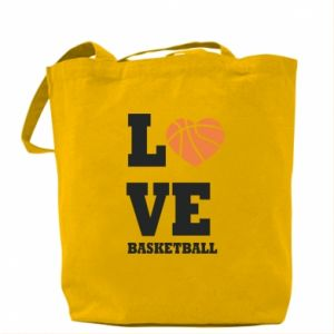 Bag I love basketball