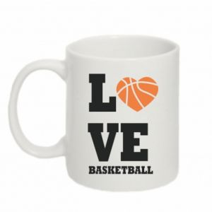 Mug 330ml I love basketball