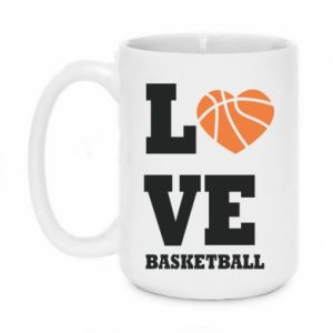 Kubek 450ml I love basketball
