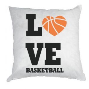 Pillow I love basketball