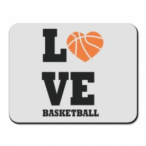 Mouse pad I love basketball