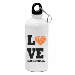 Water bottle I love basketball