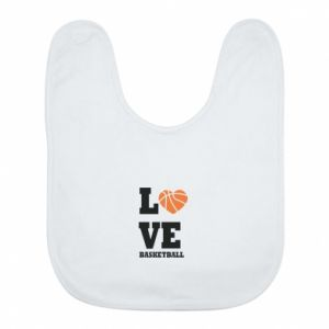 Bib I love basketball