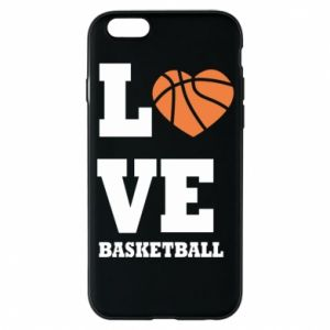 Etui na iPhone 6/6S I love basketball