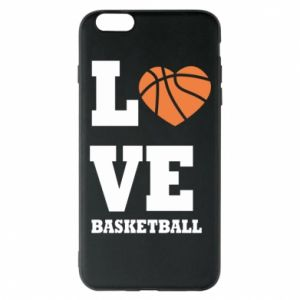 iPhone 6 Plus/6S Plus Case I love basketball