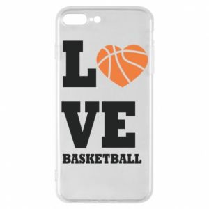 iPhone 7 Plus case I love basketball