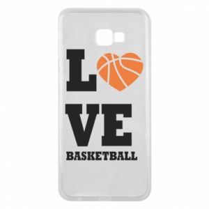 Samsung J4 Plus 2018 Case I love basketball