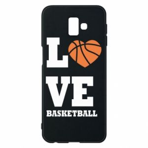 Samsung J6 Plus 2018 Case I love basketball