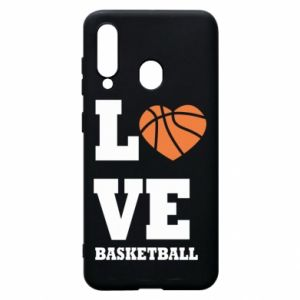 Samsung A60 Case I love basketball
