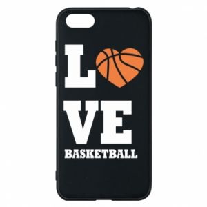 Huawei Y5 2018 Case I love basketball