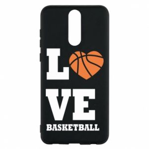 Huawei Mate 10 Lite Case I love basketball