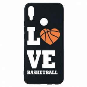 Huawei P Smart Plus Case I love basketball